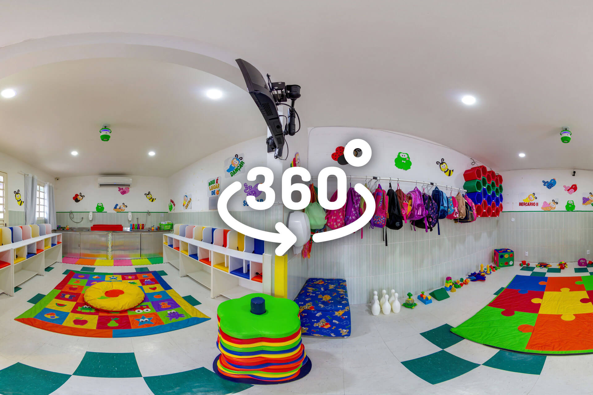 Creche Mundo Kids Tour Virtual 360º